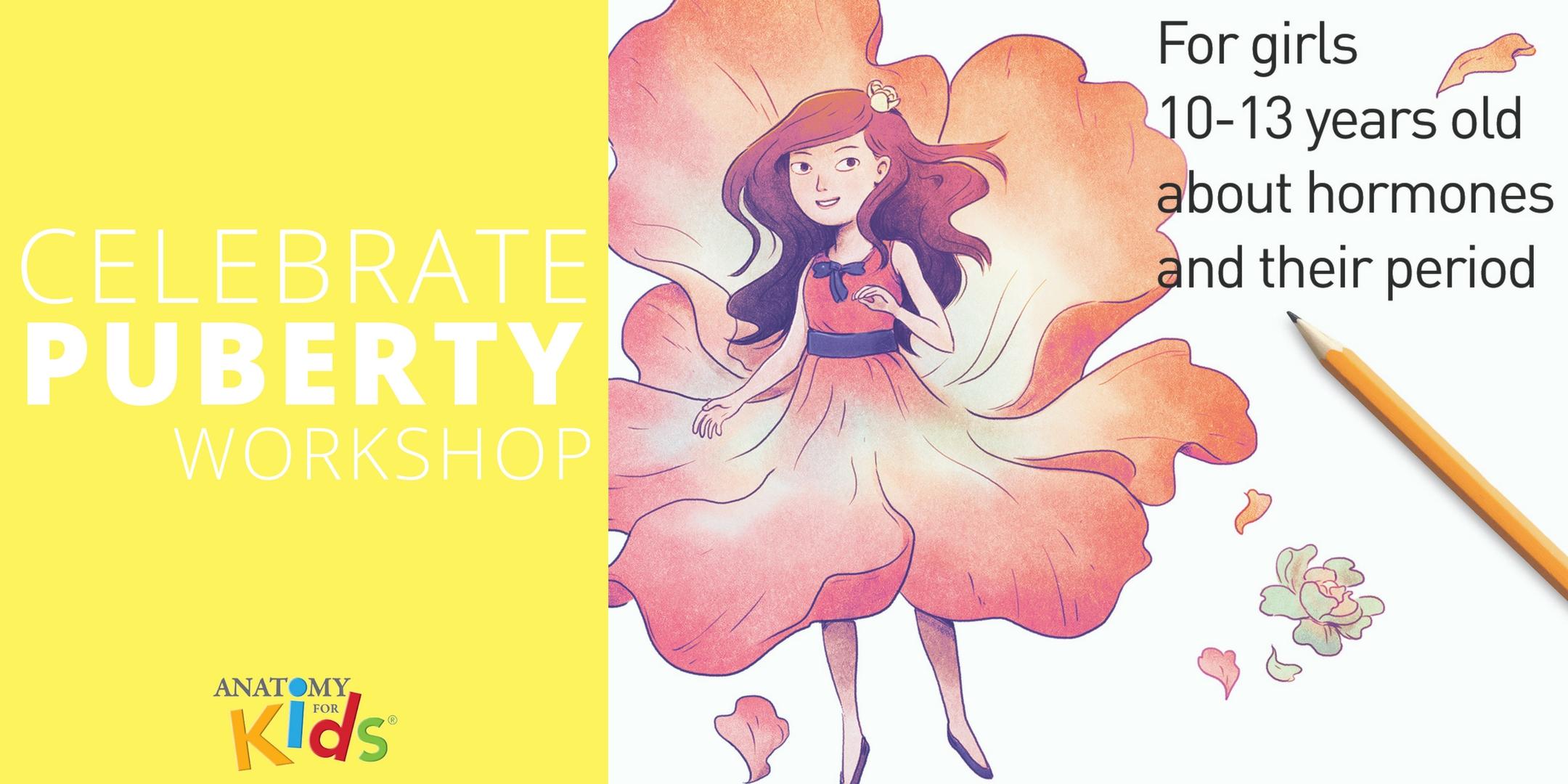 Celebrate Puberty Workshops For Girls 10 13