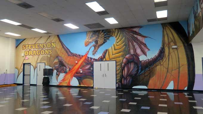 HoustonMurals  Commercial  schools