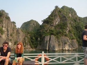 The boat trip in Ha Long Bay
