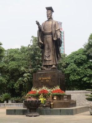 Founder of Hanoi, a Vietnamese emperor