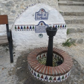 Ye olde gravity fountain of cool clear drinking water
