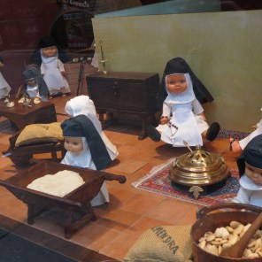 Crazy nun figures