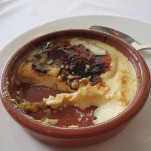 Creme brulee in Cannes