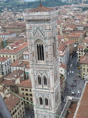 View from cupola on top of cathedral