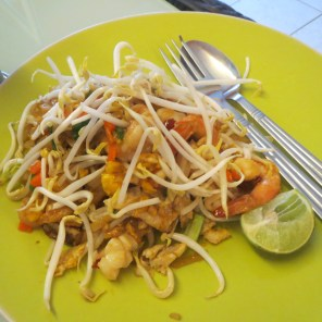 Pad Thai at the hostel
