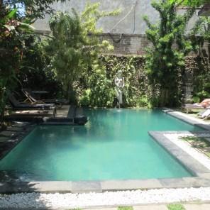 Ubud villa pool