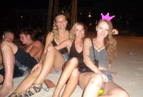 New Year's Eve on Gili T