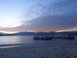Sunrise on Gili T 2016