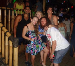 New Year's Day on Gili T 2016