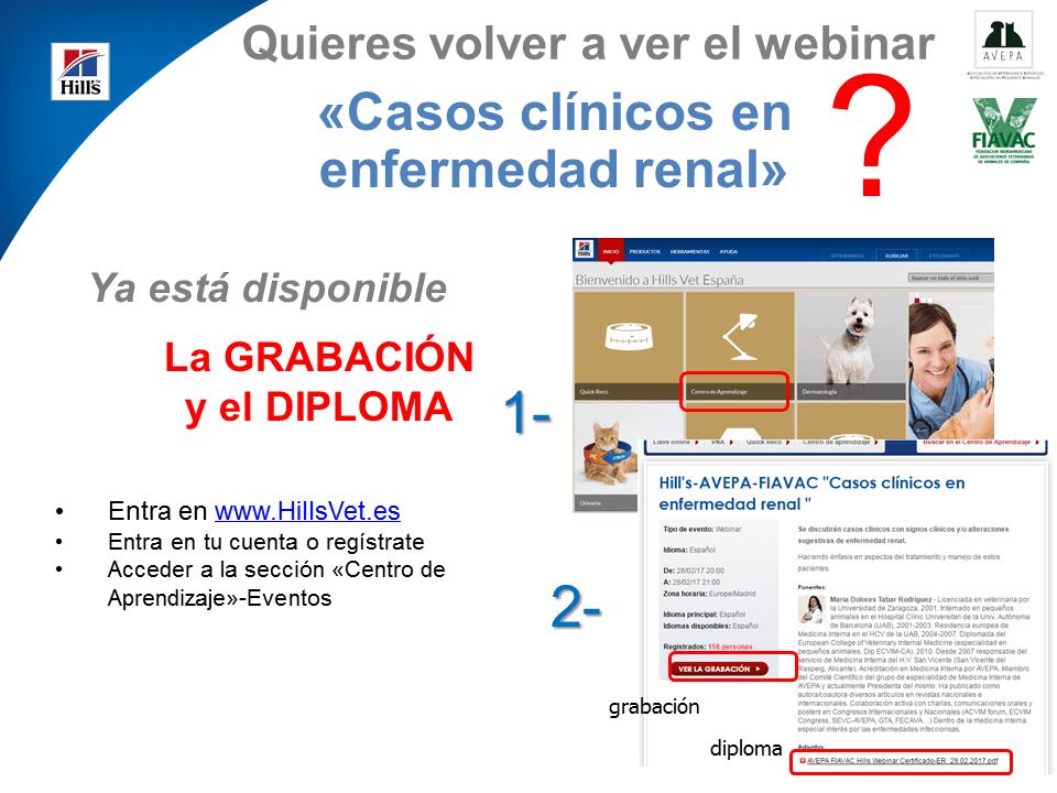 El webinar 'Casos clínicos en enfermedad renal' ya disponible
