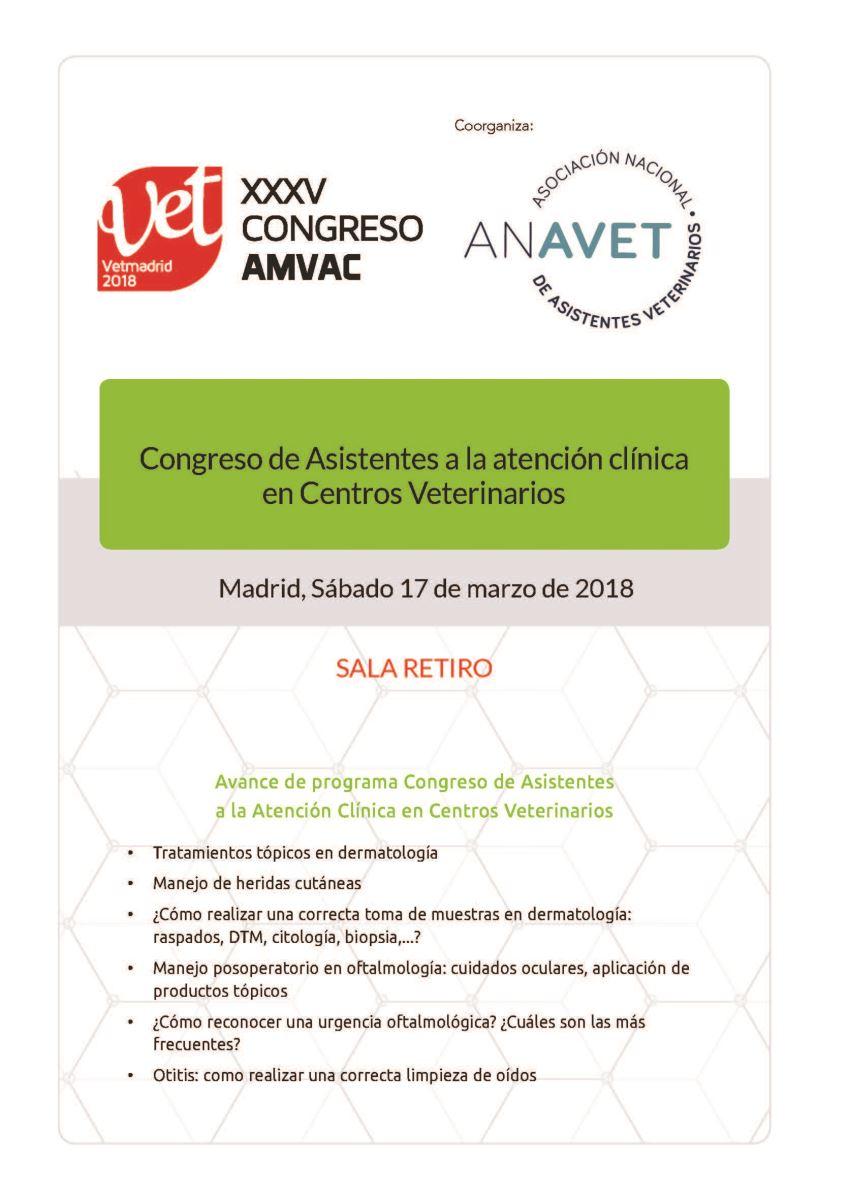 Congreso VetMadrid 2018
