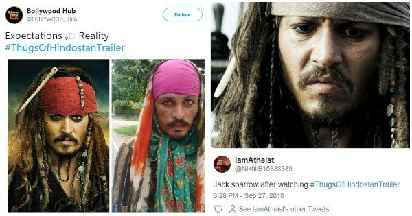 So what if Thugs of Hindostan has broken your hearts.. Here are some memes to compensate