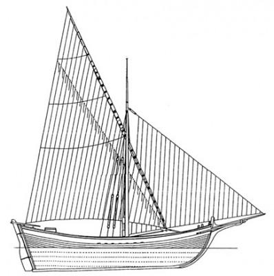 0514 – GROSSA TARTANA di m. 20,40
