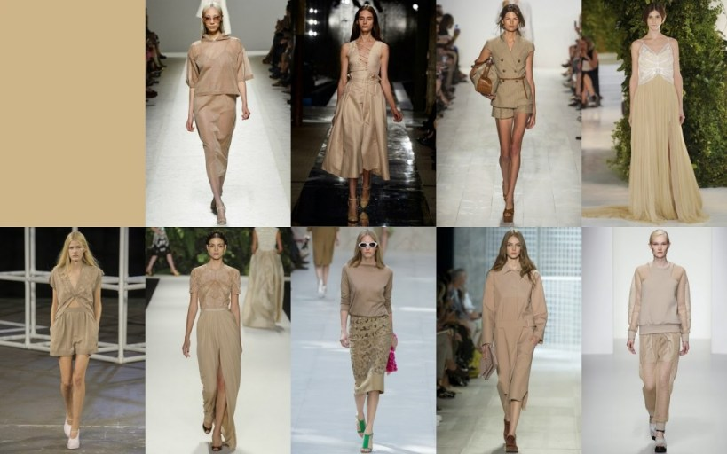 Sand FCR Spring 2014 Pantone Collections