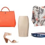 Cum sa asortezi geanta portocalie