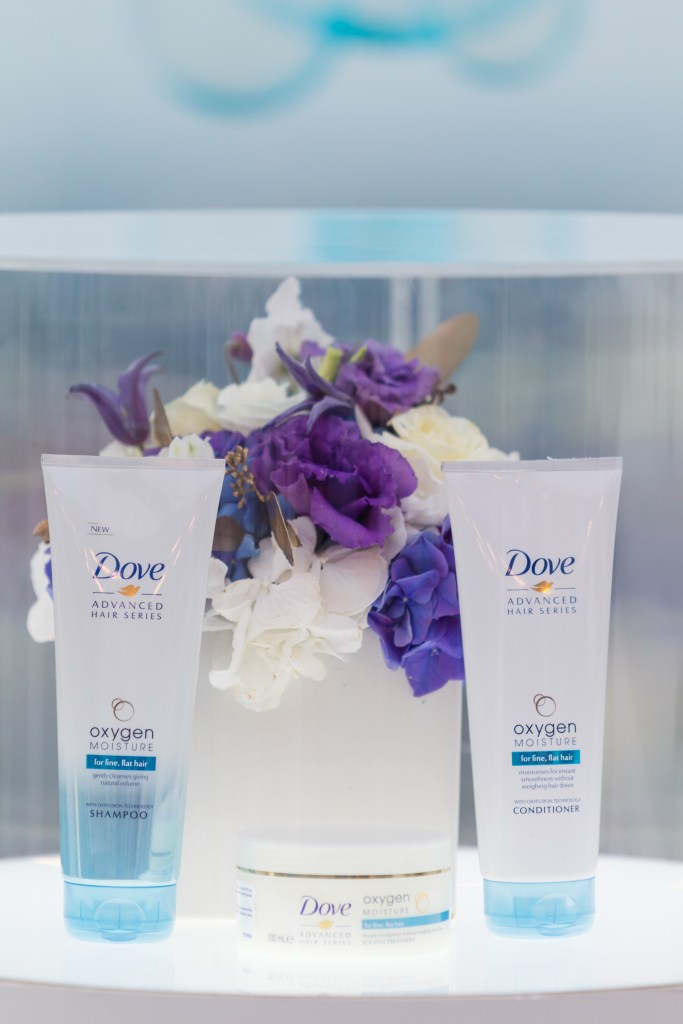 Eveniment lansare Dove advanced series