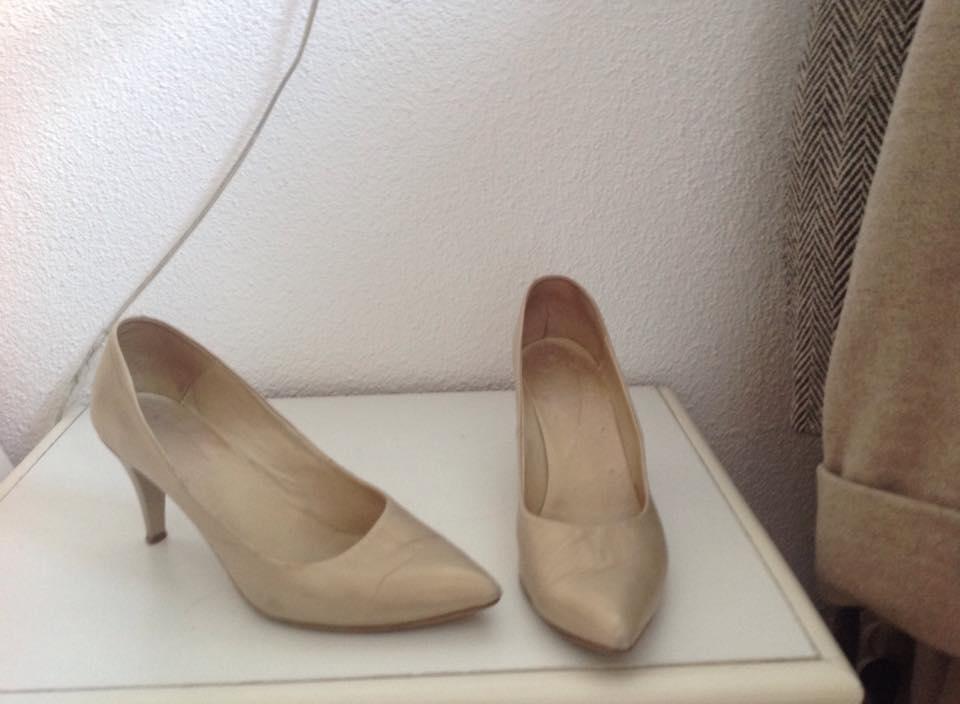Pantofi piele, 40, 30 lei