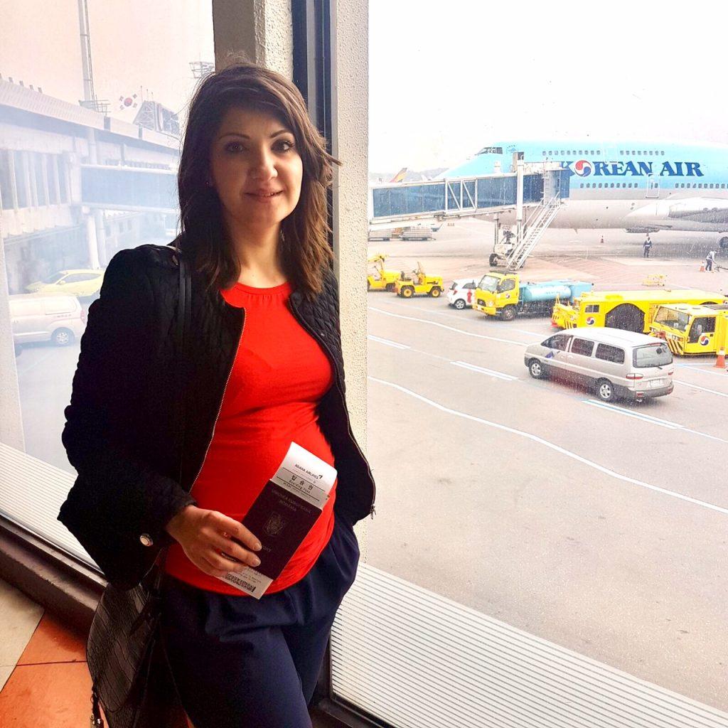 calatoriile cu avionul in timpul sarcinii