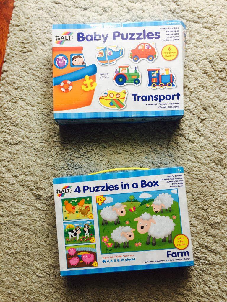 jocuri educative pentru 2 ani si jumatate - puzzle