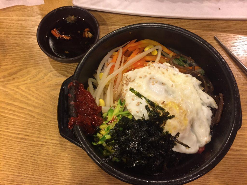 bibimbap - mancarea din Coreea de Sud