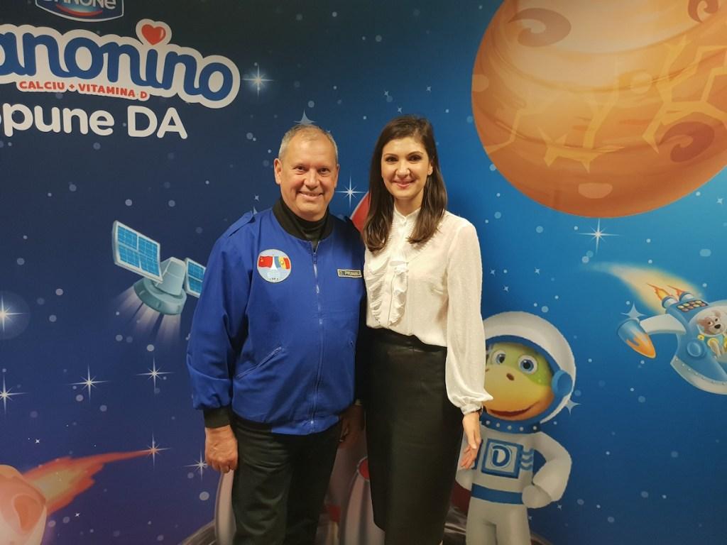 Interviu cu Dumitru Prunariu, primul român care a zburat în Cosmos