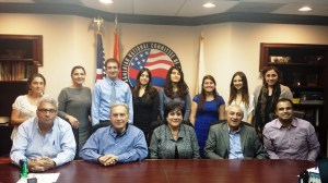 ANCA WR 2013 Summer Interns with Board of Directors and staff