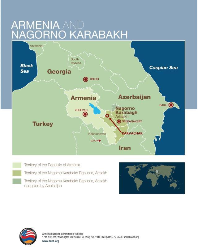 karvachar artsakh map