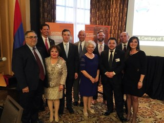 ANCA Dallas Board with State Officials and Guest Speakers