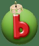 alphabet-boule-noel-vert-b
