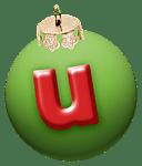 alphabet-boule-noel-vert-u