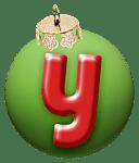 alphabet-boule-noel-vert-y