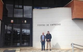 ANCES visita las instalaciones de su nuevo socio el centro de empresas de la Diputación de Cuenca