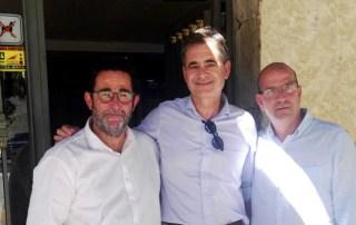 Álvaro Simón mantiene un encuentro con el presidente de CEEI Burgos