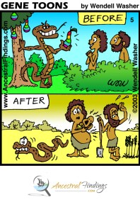 Before and After (Genetoons Cartoon #005)