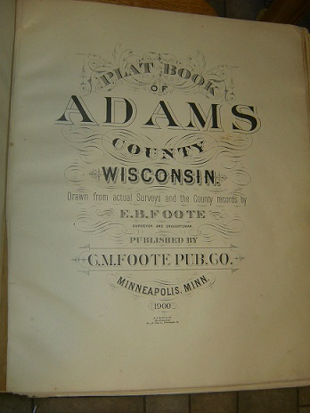 Adams County Ancestral Trackers Maps