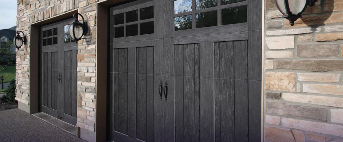 Stylish Garage Doors Windows