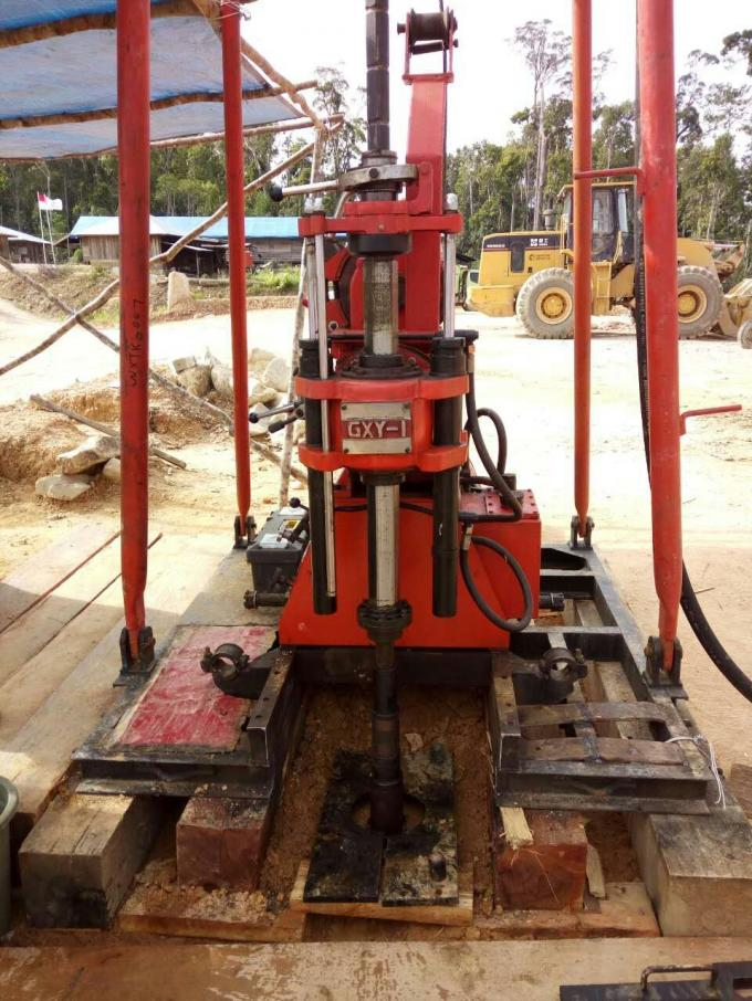 GXY-1 Core Drilling Rig Mining drilling sample exploration soil investigation sampling diamond bit core barrel