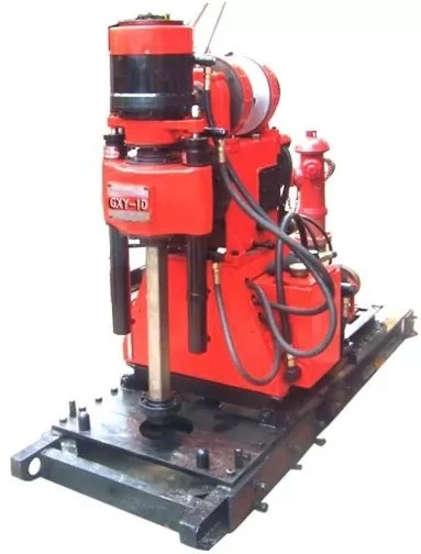 GXY-1D Mining Exploration Drilling Rig.Skid Mounted.Blast Hole Drilling