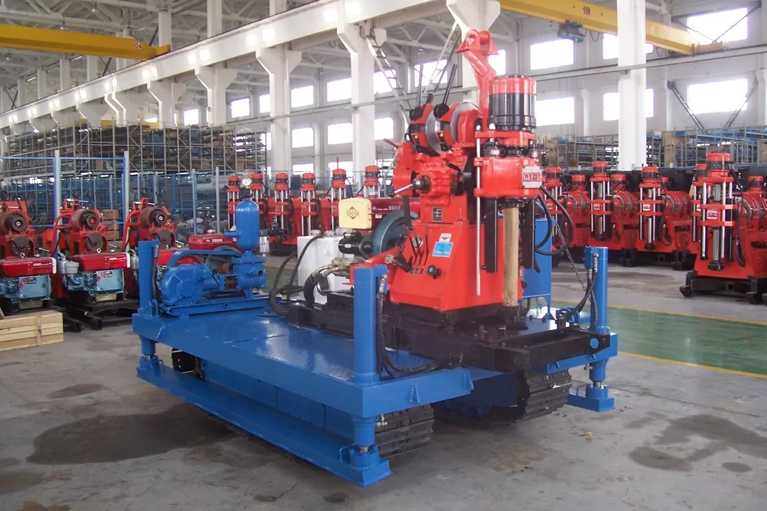 Exploration Drilling Rig . Crawler Drilling Machine For Engineering Prospecting