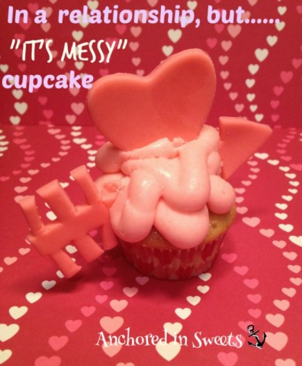 Funny Valentine's Day Cupid Cupcake