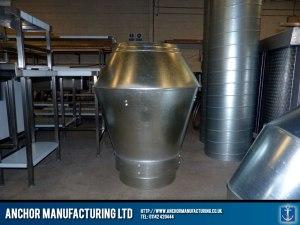 Kitchen air ventilation silencer.