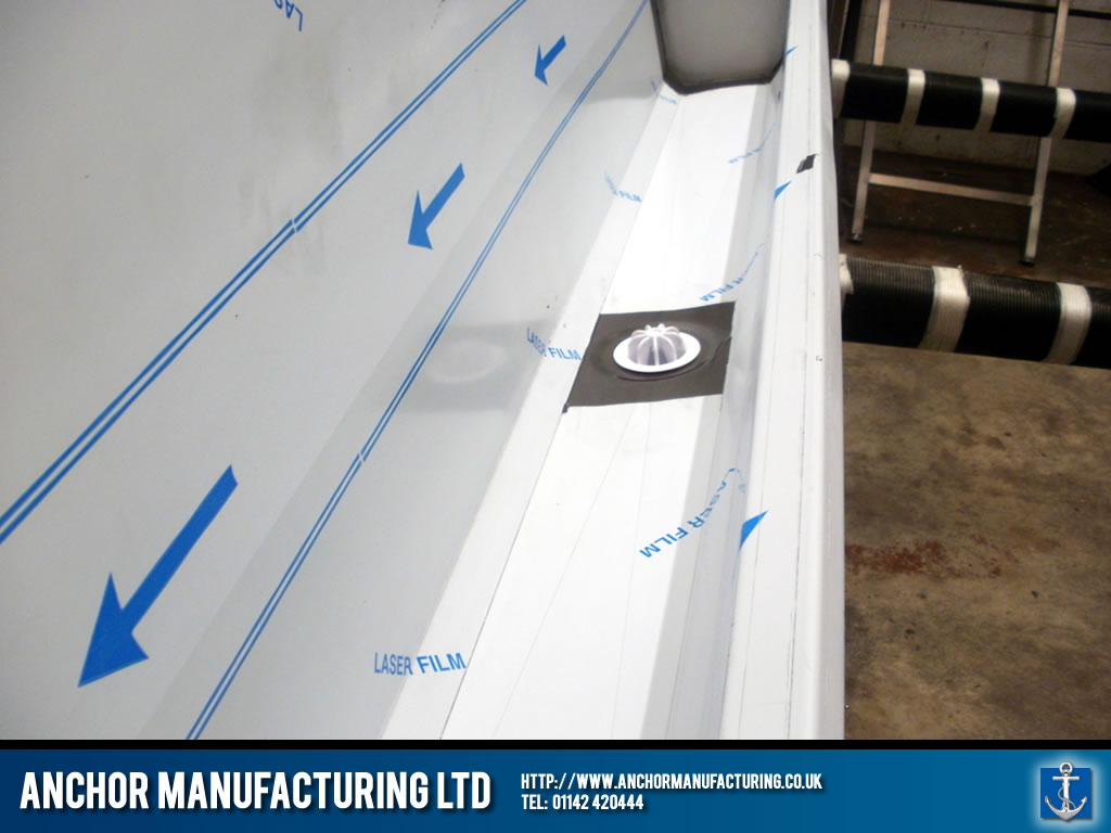 Plastic Coated Urinal Trough Anchor Manufacturing Ltd