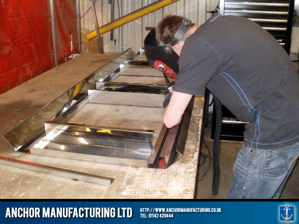 Kitchen canopy frame fabrication anchor manufacturing ltd for Perfect kitchen fabrication