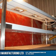 Commercial Kitchen Ventilation Exhaust System Two Tiered Heated Gantry. | Anchor Manufacturing Ltd