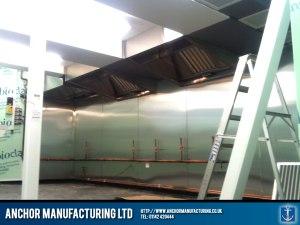Modular kitchen canopy units.