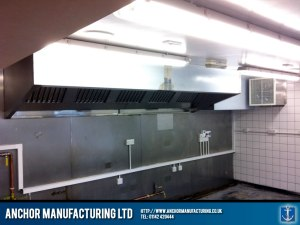 Kitchen canopy kitchen refit.