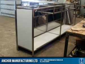 Sheffield shop counter fabrication.