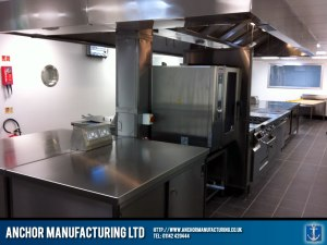A Rotherham food company kitchen fitting project.