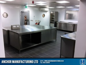 Sheffield stainless steel kitchen project.