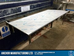 Stainless Steel Butchers Table.